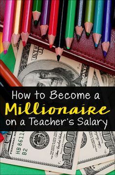 How to Become a Millionaire on a Teacher's Salary... it's actually possible! High school teacher Andrew Hallam hit this milestone by age 40 and wrote Millionaire Teacher to share his wealth-building secrets!