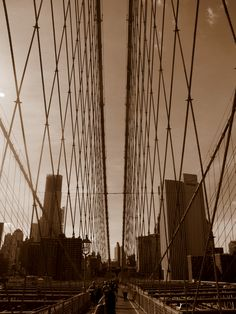 Brooklyn Bridge Picture by me
