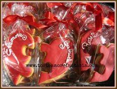 Cuori Puzzle Segnaposto per matrimonio!www.torteamorefantasia.com