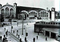 Berlin, Stettiner Bahnhof mit dem neu errichteten Gebäude für die Nord-Süd-Bahn, 1936