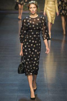 Défilé Dolce & Gabbana Printemps-été 2014 34