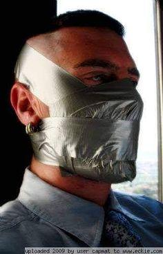 Gay bondage duct tape