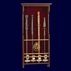 Harry Potter Four Character Wand Display | Captain Hook Merchandise