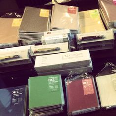 New stock just arrived Midori Travelers Notebook and accessories at Bookbinders Online.