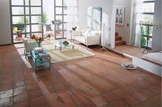 Quarry Tiles Aragon Terracotta Red Quarry Tiles