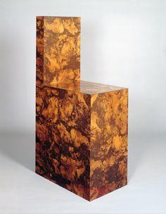 Richard Artschwager, Chair, 1966 Formica 151 x 46 x 77 cm Richard Artschwager, Art Et Design, Design Design, Design Ideas, Polywood Adirondack Chairs, Pop Art Movement, Social Art, Galleries In London, Jasper Johns