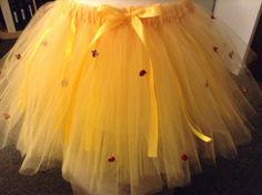 Hey, I found this really awesome Etsy listing at https://www.etsy.com/listing/114002799/princess-belle-inspired-adorable-tutus