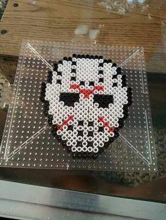 Jason Voorhees Perler Beads