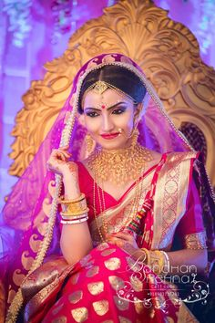40 boldest nose ring or nath designs every bride would love to have Lesbian Wedding Photography, Indian Wedding Couple Photography, Indian Wedding Bride, Bengali Wedding, Bengali Bride, Bride Photography, Tamil Wedding, Photography Styles, Indian Bridal Outfits