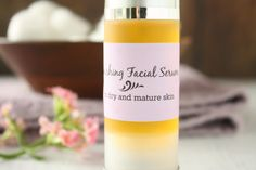 Nourishing Facial Serum for Dry and Mature Skin - Naturally Mindful