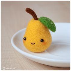 Pear by Katy-Doll.deviantart.com on @deviantART