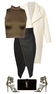 untitled#45 by hebashk on Polyvore featuring polyvore fashion style Carven Jane Norman Giuseppe Zanotti Yves Saint Laurent women's clothing women's fashion women female woman misses juniors