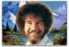 """7 blogging lessons from painter Bob Ross \\    Do you remember the painter on PBS who taught us how to draw """"happy little clouds""""? His artistic advice applies to blogging, too."""