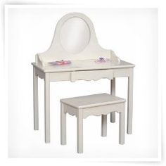 Little Colorado Vanity and Bench Set - Linen