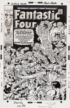 Jack Kirby // Fantastic Four
