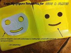 Resultado de imagen para lego party favors printables free