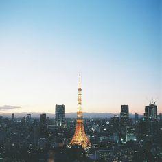 ileftmyheartintokyo:  Tokyo Tower 1630 by mikkiki_Ito on Flickr.