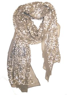 Sparkly Scarf. want want WANT!