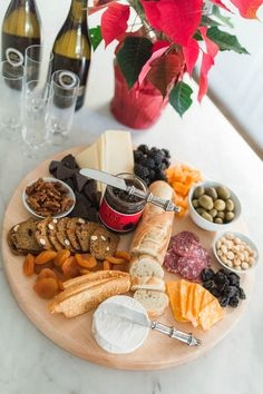 How to create a Killer Cheese Plate Using Only Trader Joe& items - Andee La. Food Platters, Cheese Platters, Antipasto, Charcuterie And Cheese Board, Cheese Boards, Charcuterie Ideas, Trader Joe's Cheese, Christmas Salad Recipes, Easy Cheese
