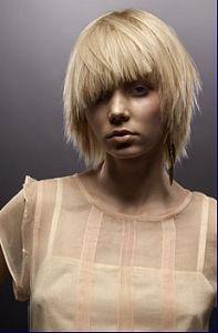 . Shag Hairstyles, Hairstyles With Bangs, Straight Hairstyles, Grunge Hairstyles, Bangs Hairstyle, Grunge Haircut, Creative Haircuts, New Hair Do, Short Blonde