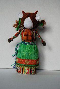 Народная кукла Корова Ряженая