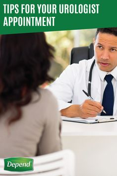 Talking about incontinence with a professional can be nerve-wracking if you don't know what to ask your doctor. Luckily, Depend® has compiled a list of tips for talking to your urologist to make the first visit a little less intimidating. Talking to a urologist about bladder leakage and incontinence will help you wrap your head around the facts and direct you to the right incontinence products to help you get your confidence back!