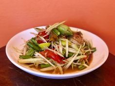 Healthy Thai Recipes, Japchae, Ethnic Recipes, Food, Meals, Yemek, Eten