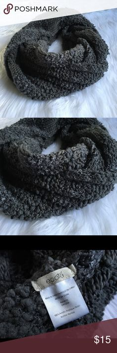 Ecote Urban Outfitters Oversized Infinity Scarf Make sure to follow me so you don't miss out on other great items. I post new items regularly! Ecote | Urban Outfitters One Size Oversized infinity scarf. Gray, soft and comfy. Mixed knit on the scarf. 41 inches in length (but you can stretch it out) and about 19 inches in width. There is enough to double loop the scarf. Please note that color may vary a small amount because of my lighting. If you have questions please ask and I would be happy…