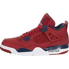 Jordan Air IV (4) Retro SE (FIBA) Newest Jordans, Kids Jordans, Air Jordan Iii, Air Jordan 12 Retro, Best Soccer Cleats, Soccer Shoes, Black And Gold Jordans, Flight Logo