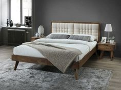 Coco White Hardwood Queen Size Storage Bedroom Suite on Sale for Cheap in Melbourne While Stocks Last! - B2C Furniture Queen Bedroom Suite, Bedroom Suites, Rustic Queen Bed, Timber Beds, Modern Bedroom Furniture, Selling Furniture, Beds For Sale, Upholstered Beds, Queen Size Bedding