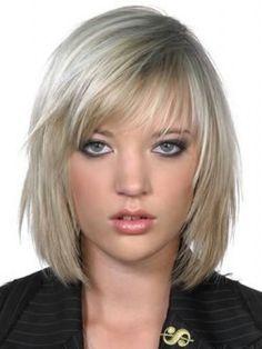 Medium hairstyle for fine hair
