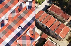 Aerial Landscape Shots Perfectly Matched With Clothing (10 pics) | Bored Panda
