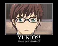 Noragami / Blue Exorcist ~~ Yukio = Kazuma ?! IT'S FUNNIER BECAUSE THEY HAVE THE SAME VOICE ACTOR