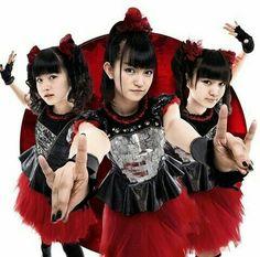 Babymetal: Yui Mizuno, Suzuka Nakamoto, and Moa Kikuchi