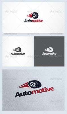 Automotive Logo Template #GraphicRiver Automotive is logo template that suitable for any business or company related t