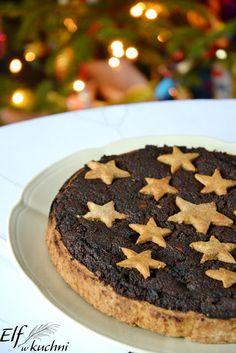 Elf w kuchni !: Czekoladowa tarta makowa