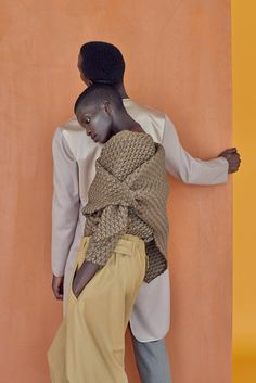 Adonis Bosso and Achok Majak photographed by Dominik Tarabanski for The Open Lab…