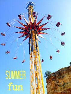 Summer Fun at Six Flags Fiesta Texas