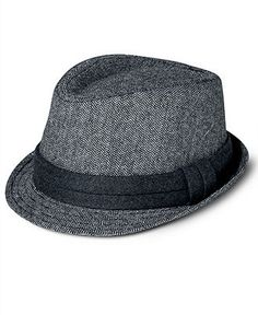 Free Authority Hat, Houndstooth Fedora - Men - Macy's
