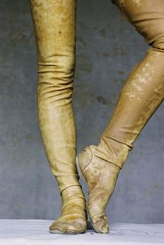 Carol Christian Poell: Mummified Legs On Heel (female) F/W 2001