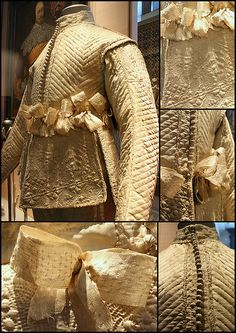 17C Man's doublet Victoria and Albert Museum - British Galeries by Kotomicreations, via Flickr