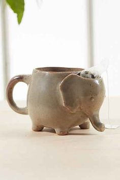 elephant tea mug - so cute!