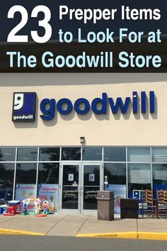 Shopping at thrift stores like the Goodwill store is a great way to save money on prepper items. Its extremely satisfying. via Urban Survival Site Survival Items, Urban Survival, Survival Food, Homestead Survival, Wilderness Survival, Survival Prepping, Survival Knife, Survival Skills, Survival Hacks