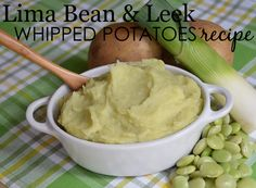 Baby Food Recipe: Lima and Leek Whipped Potatoes - for babies 7-9 months and up! {Fab, healthy recipe by @sagespoonfuls}