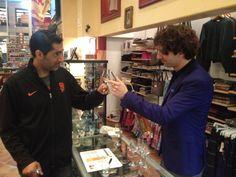At Whisky Shop in San Francisco