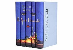 S/5 F. Scott Fitzgerald Book Set Juniper Books, LLC  $195