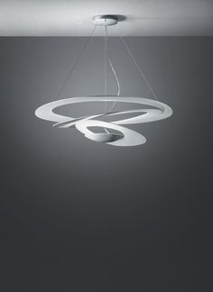 Artemide Pirce pendant light - Modern - Lighting - by Interior Deluxe White Pendant Light, Led Pendant Lights, Pendant Lighting, Suspended Lighting, Pendant Lamps, Round Pendant, Contemporary Pendant Lights, Modern Lighting, Modern Contemporary