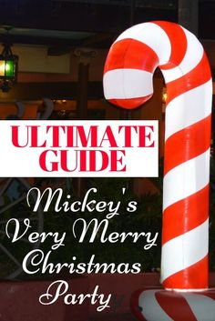 You won't be able to do & see everything, but here are some Mickey's Very Merry Christmas Party Tips to help you make the most out of your trip.