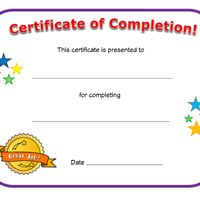 Certificate With Gold Seal And Teal Polka Dot Background  Jim