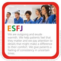 ESFJ - MBTI care and compassion Type table - https://www.opp.com/en/Using-Type/Compassion-Type-table